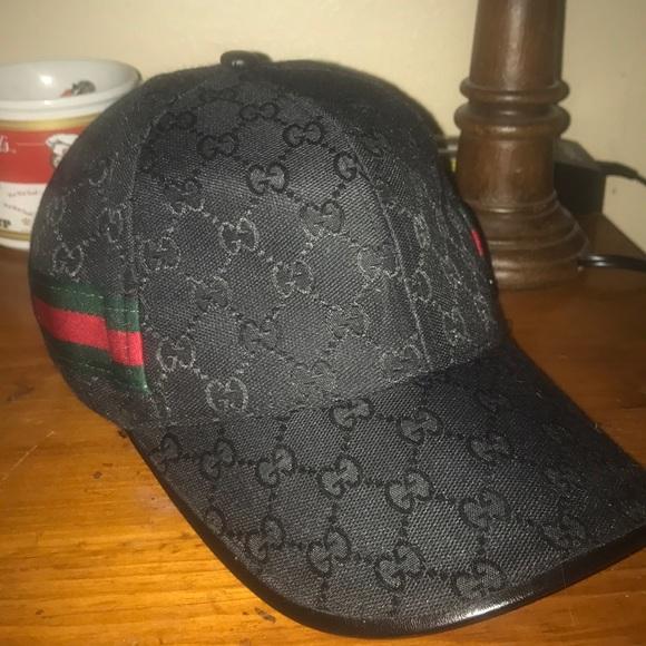 8ea5d8512fd Gucci Other - Black Gucci GG Canvas Baseball Hat